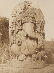 Ganesa. [Sculpture of Ganesha, Halebid.]
